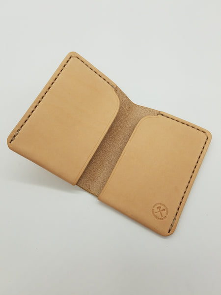 Porter Wallet - Natural Veg-tan