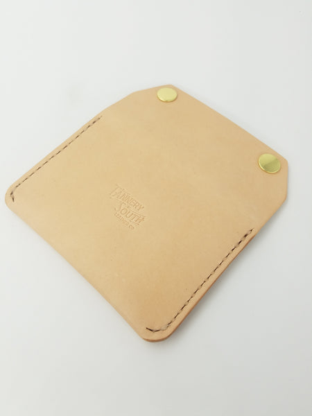 Railcar Wallet - Wickett & Craig Natural Veg-tan