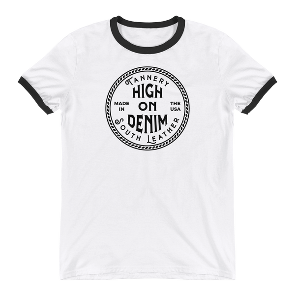 High On Denim Ringer T-Shirt