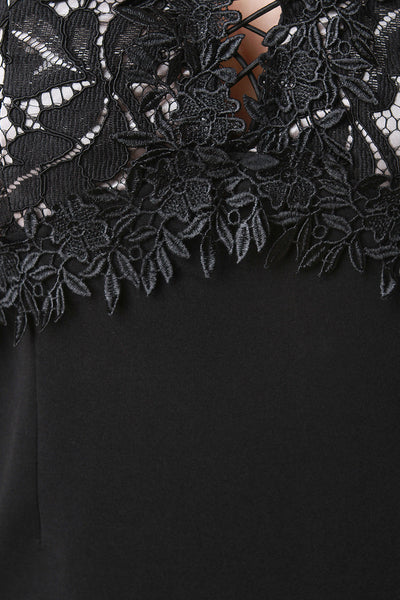 Lace Bustier Bodycon Dress