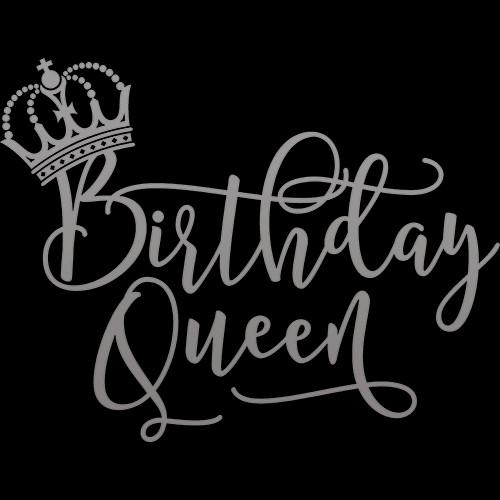 Birthday Queen (Sliver Foil)