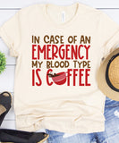 Coffee Is My Blood Type