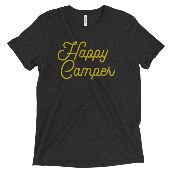 HAPPY CAMPER RETRO SHORT SLEEVE TEE