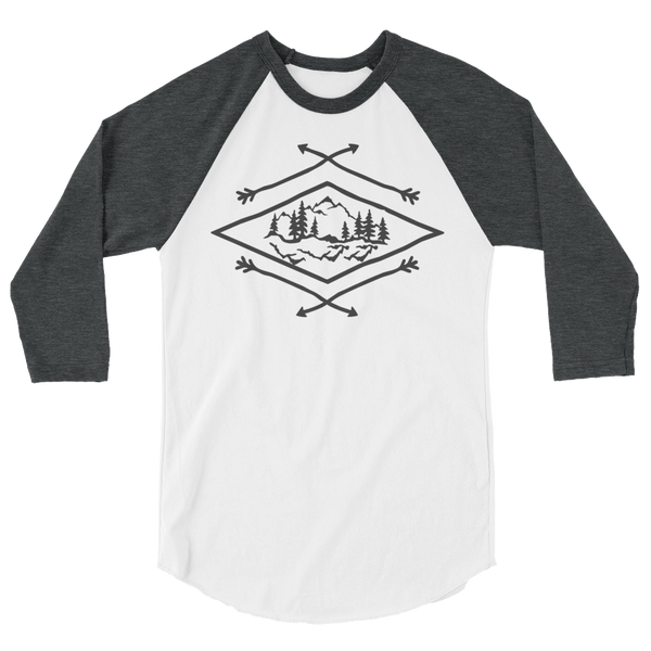 Diamond Mountains Baseball T-Shirt