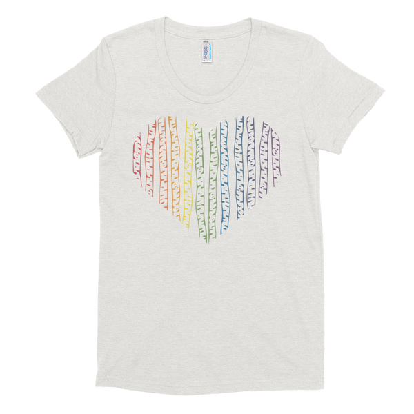 Pride Birch Wood Heart T-Shirt
