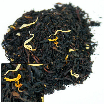 August Peach Black Loose Tea - Sweet Pea Tea
