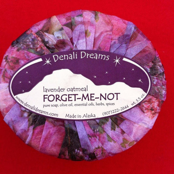 Forget Me Not Soap - Sweet Pea Tea