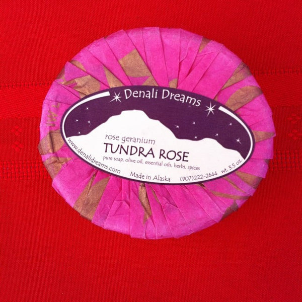 Tundra Rose Soap - Sweet Pea Tea