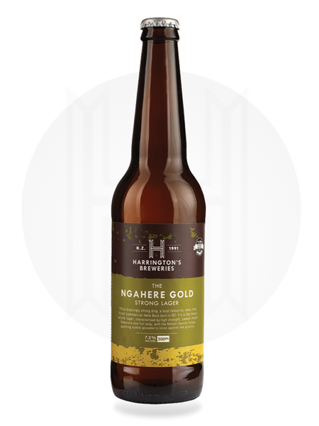 The Ngahere Gold, Strong Lager - Harrington's Breweries