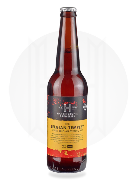 Belgian Tempest Strong Ale - Harrington's Breweries