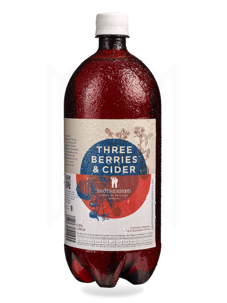 Brotherhood Three Berries & Cider - Harrington's Breweries