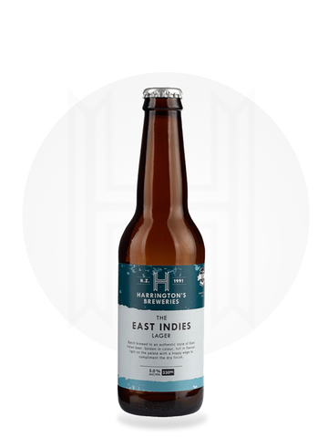 The East Indies Lager - Harrington's Breweries
