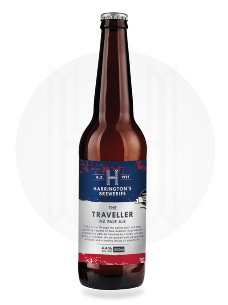 The Traveller, NZ Pale Ale - Harrington's Breweries