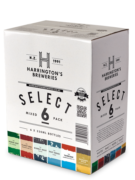 The Select 6 Box - (4 x 6 Mixed Packs)