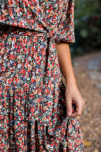SPRING FLING DRESS - FLORAL (PREORDER)