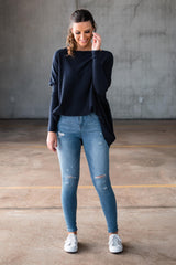 HARPER KNIT - NAVY