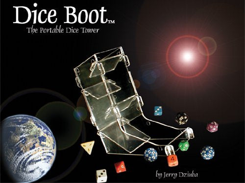 Chessex Dice Boot Dice Tower - Clear