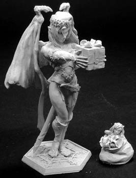 Reaper Miniatures 2003 Christmas Sophie #01408 Special Edition Unpainted Figure