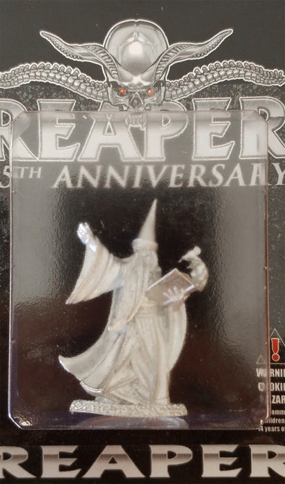 Reaper Mini Silver (25th) Anniversary - Darius the Blue #01606 Unpainted Metal