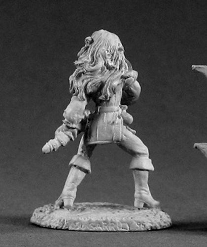 Reaper Miniatures Sidrith Sword Sister #02006 Dark Heaven Unpainted Metal