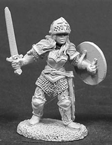 Reaper Miniatures Nicole Of the Blade 02036 Dark Heaven Legends Unpainted Metal