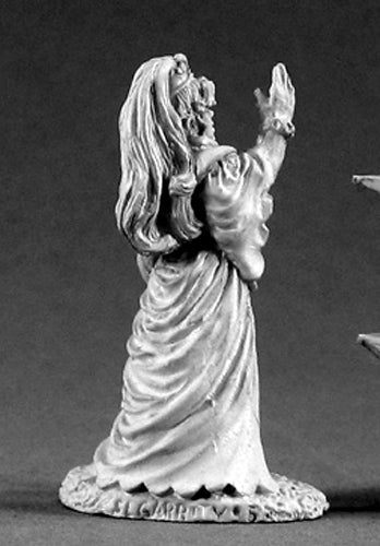 Reaper Miniatures Cecilia the Trickster #02051 Dark Heaven Unpainted Metal