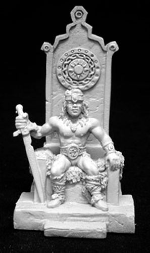 Reaper Miniatures King Angus Stormhand #02082 Dark Heaven Unpainted Metal