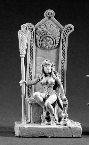 Reaper Miniatures Queen Shanon Stormhand #02083 Dark Heaven Unpainted Metal