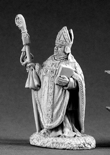 Reaper Miniatures Brother Louis IV #02087 Dark Heaven Legends D&D Mini Figure