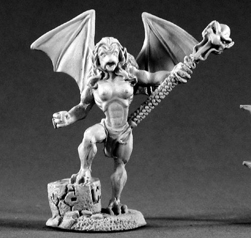 Reaper Miniatures Gargoyle Matron #02145 Dark Heaven Legends Unpainted Metal