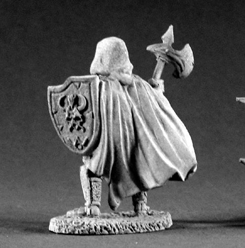Reaper Miniatures Unholy Warrior #02146 Dark Heaven Legends Unpainted Metal