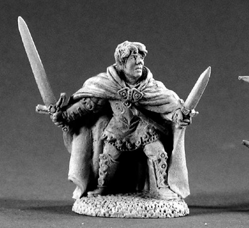 Reaper Miniatures Dorian Starbrow #02154 Dark Heaven Legends Unpainted Metal