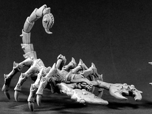 Reaper Miniatures Giant Scorpion #02182 Dark Heaven Legends Unpainted Metal