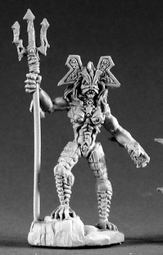 Reaper Miniatures Domnu Of the Slithe 02219 Dark Heaven Legends Unpainted Metal