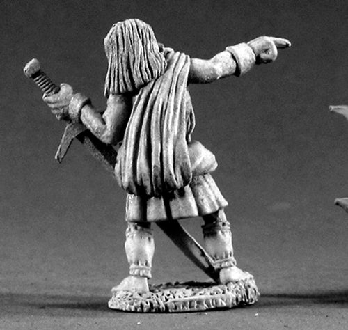 Reaper Miniatures Robert O'Mannon #02243 Dark Heaven Legends Unpainted Metal