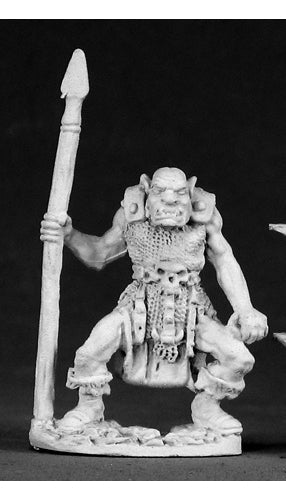Reaper Miniatures Orc Of Kargir 02283 Dark Heaven Legends Unpainted Metal Figure