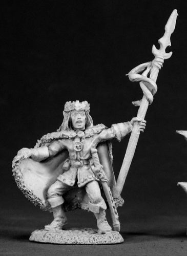 Reaper Miniatures King Feanor Starbrow #02323 Dark Heaven Unpainted Metal