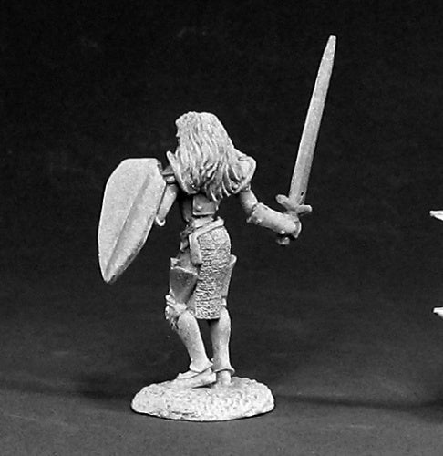 Reaper Miniatures Krista, War Maiden #02348 Dark Heaven Legends Unpainted Metal