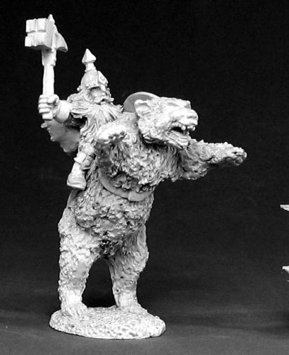 Reaper Miniatures Dwarven Bear Cavalry #02385 Dark Heaven Unpainted Metal