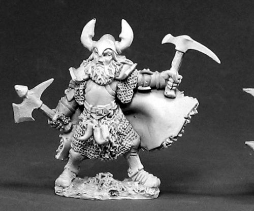 Reaper Miniatures Thorval the Black #02394 Dark Heaven Legends Unpainted Metal