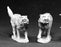 Reaper Miniatures Dire Wolves #02415 Dark Heaven Legends Unpainted Metal Figure