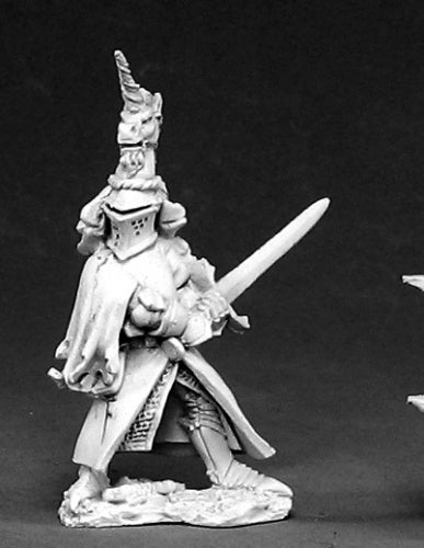 Reaper Miniatures Sir Richard the White #02420 Dark Heaven Unpainted Metal