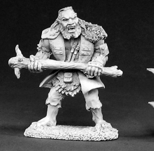 Reaper Miniatures Hill Troll #02421 Dark Heaven Legends Unpainted Metal Figure