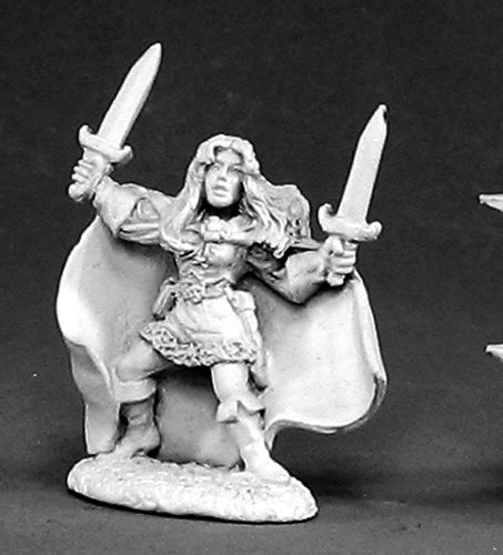 Reaper Miniatures Michelle Dancingblades #02423 Dark Heaven Unpainted Metal
