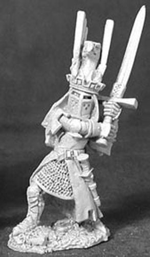 Reaper Miniatures Sir James the Blue #02429 Dark Heaven Legends Unpainted Metal