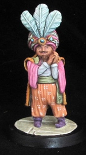 Reaper Miniatures Omar Al-Kafour #02433 Dark Heaven Legends Unpainted Metal
