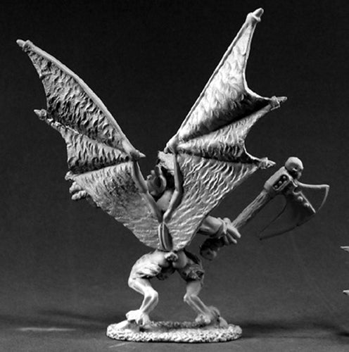Reaper Miniatures Demon Gharun #02444 Dark Heaven Legends Unpainted Metal Figure