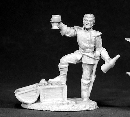 Reaper Miniatures Rudiger Pirate Lord #2508 Dark Heaven Legends Unpainted Metal