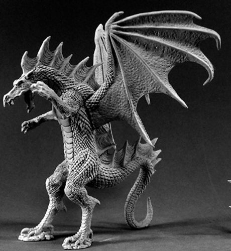 Reaper Miniatures Narthalyssk, Dragon 02549 Dark Heaven Legends Unpainted Metal