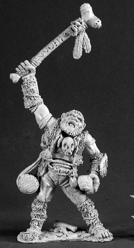 Reaper Miniatures Blorg, Hill Giant #02579 Dark Heaven Legends Unpainted Metal